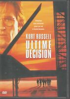 Ultime Decision Dvd Kurt Russell Halle Berry Steven Seagal