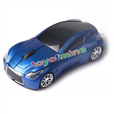 Hot sale Wireless 3D 2.4GHz Cool Blue Infiniti Car Optical Usb Gaming Mouse Mice