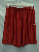 NWOT Men's Athletic Works Polyester Sport Shorts Size Medium Red #318M