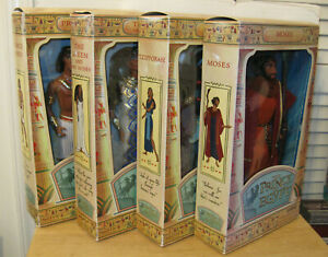 "The Prince of Egypt 11"" Doll Collection Set of 4 ~ Moses Queen Tzipporah ~ NIP"