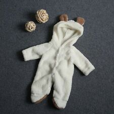 Newborn Baby Boys Girls Animal Bodysuit Outfit Romper Hooded Clothes Costume Set