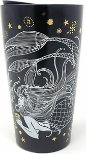 Starbucks 2019 Limited ed.  Ceramic Travel Mug Mermaid New 12oz