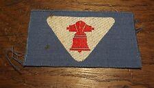 Ancien insigne scout scoutisme cloche