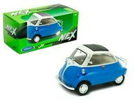 WELLY 24096B or 24096R BMW ISETTA diecast model Bubble cars blue or red 1:18th
