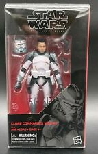 "Star Wars Black Series ""Clone Commander Wolffe"" w/Figshield DFR1 Bonus Cat Hair!"