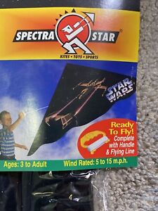 Vintage Spectra Star STAR WARS 300 Series Kite Ready To Fly 1994