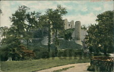 CONISBROUGH Conisbrough Castle Postcard Rotherham YORKSHIRE Valentine's Co