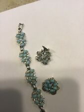 Bogoff Bracelet And Clip Earrings