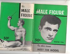 The MALE FIGURE muscle gay interest magazine/Hugh Pendelton Vol III Winter 1956