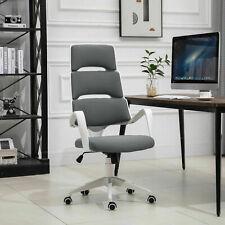 Office Chair Executive 360 Swivel Ergonomic Modern Deep GreyVinsetto High Back