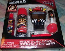 DISNEY PIXAR CARS GROOM & GO CHILDREN'S GROOMING FUN PLAY SET NEW SEALED BOX