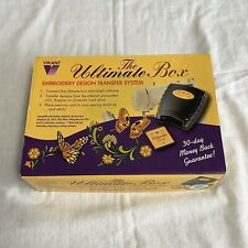 Vikant The Ultimate Box Embroidery Design Transfer System w/ Card Windows 98 Xp