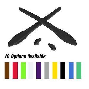 Walleva Gomma Kit Per Oakley Flak 2.0 / XL Occhiali da Sole- Multiplo Opzioni
