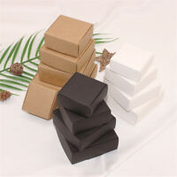 Kraft Paper Boxes Craft Candy Jewelry Handmade Soap Gift Party Favor Box Package