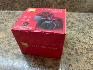 Nikon COOLPIX B500 16.0MP Digital Camera - Red BRAND NEW DISCOUNT