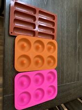 Donut And Lady finger Silicone Molds