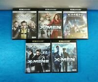 PELICULAS BLU-RAY 4K ULTRA HD PACK XMEN 1 2 INICIO APOCALIPSIS LA DECISION FINAL