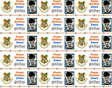 Personalised Gift Wrapping Paper HARRY POTTER Style Extra Large Birthday