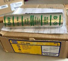 NOS CASE OF 6 ILSCO CTL-600 TIN-PLATE COPPER COMP SLEEVE 600 KCMIL 400/444 FLEX