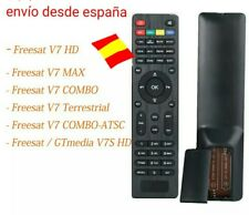 Mando original nueva para Freesat HD V7 / max / v7 combo, v7 Terrestre y GTmedia