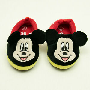 Disney Mickey Mouse Slippers Girl / Boy Toddler Size S 5/6