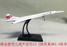 1:400 BRITISH AIRWAYS Concorde Passenger Aircraft Plane Diecast Airplane Model