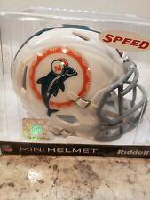Riddell NFL Miami Dolphins 1966 Tribute Speed Mini-Helmet
