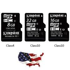 32GB Micro SD Card Class 10 TF Flash Memory Mini SDHC SDXC - FREE ADAPTER