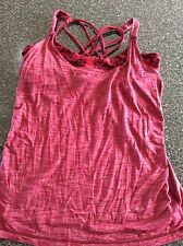 Lululemon Tank Top, Size 8, Red