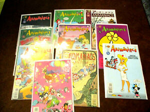 ANIMANIACS  10 Issues (All in nice shape)