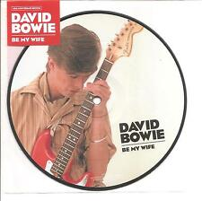 """DAVID BOWIE """"Be My Wife"""" 40th Anniversary Picture Disc 7"""" VINYL"""