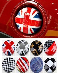Union Jack Car Fuel Tank Gas Decor Cap Cover For Mini Cooper Cooper R55 R56 ABS