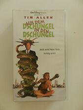 VHS Video Kassette Aus dem Dschungel in den Dschungel Tim Allen Disney