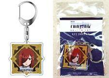 Fairy Tail Dragon Cry Acrylic Key Chain Erza Scarlet Hiro Mashima Licensed New