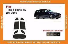 pellicola oscurante vetri fiat tipo sw dal 2016 kit posteriore