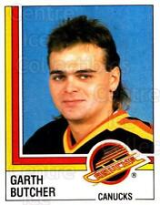 1987-88 Panini Stickers #343 Garth Butcher