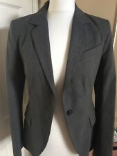 ZARA Basic Size Euro 36 Grey Beautiful Trouser Suit New Without Tags