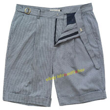 Summer Retro Pants Gurkha Pants Men's Cotton Plaid Pants Casual Shorts Straight