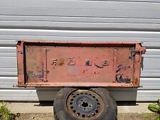 Vintage Ford Tailgate Bench Wall Art Man Cave Rat Rod