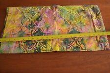 By 1/2 Yd, Multi-Color Tonga Batik, Timeless Treasures/B7800/LOLLIPOP, M9030