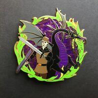Maleficent Dragon & Phillip - Rival Reflection - LE 100 - FANTASY Disney Pin 0
