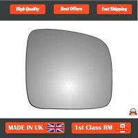 Right Driver Convex Wing Mirror Glass for VW Transporter T5 2003-2009 49RS