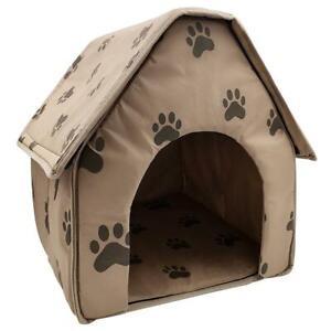 Portable Dog House Foldable Winter Pet Bed Nest Tent Cotton Cat Puppy K BEST