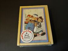New listing Schylling Raggedy Ann & Andy Jigsaw Puzzles ~ Set of 4 ~ 48 pc.~ Johnny Gruelle
