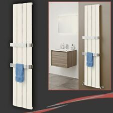 "375mm (w) x 1800mm (h) ""Wave"" Latte Vertical Aluminium Radiator - 2475 BTUs"