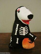 EXTREMELY RARE~2012 TARGET BULLSEYE PLUSH DOG~HALLOWEEN SKELETON~ED 2~176 OF 200
