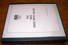1968 Buick Chassis Body Bulletin Book GS 350 GS400 Skylark Riviera Special Regal