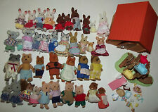 Huge Lot Calico Critter Figures Families Toys Animals +