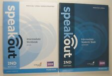Pearson SPEAKOUT 2nd EDITION Intermediate Students' Book Workbook with CD + KEY