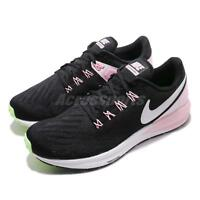 Nike Wmns Air Zoom Structure 22 Black Pink Foam Women Running Shoes AA1640-004